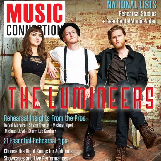 The Lumineers cover Music Connection August 2016