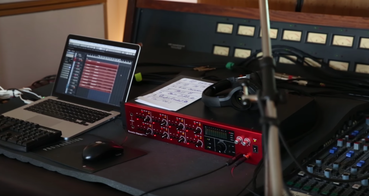 Professionals choose Focusrite Clarett 8PreX