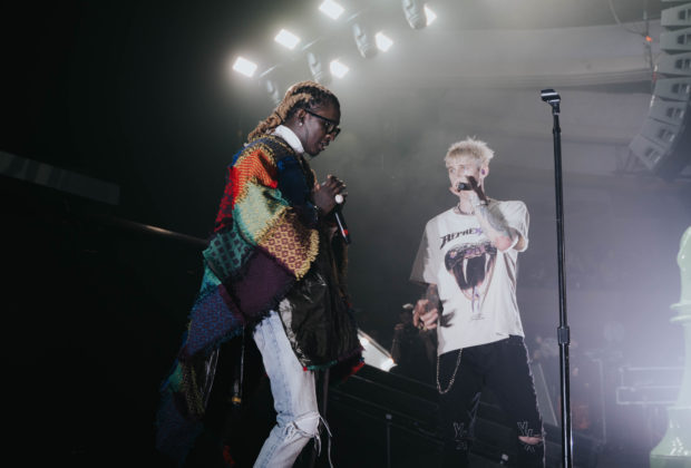 MGK and Young Thug